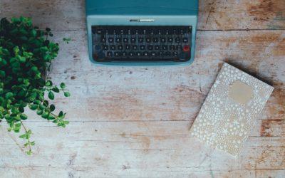 Schrijven met een typemachine   Coster Copy