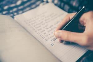 Schrijven is schrappen Notitieboekje