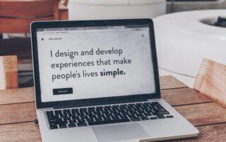 UX-writing laptop